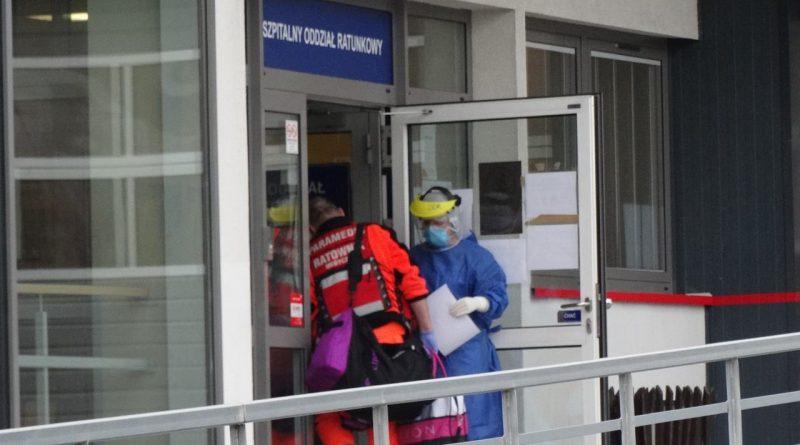 Trzy osoby zakażone koronawirusem w SOR na Lwowskiej