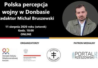 Co dalej z Donbasem? Rozmowa na żywo z Michałem Bruszewskim