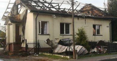 Zaczernie. Doszczętnie spłonął dom ! Apel o pomoc!